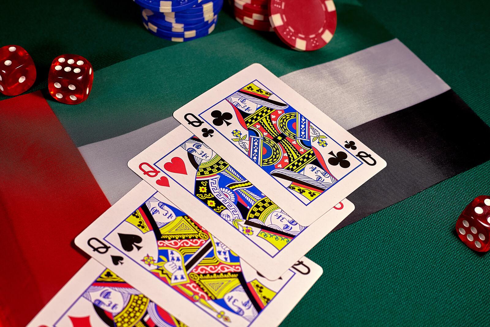 Casino Poker Gambling Poker Table Card Game
