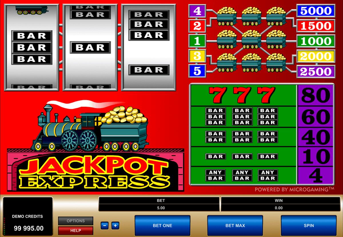 jackpot express microgaming