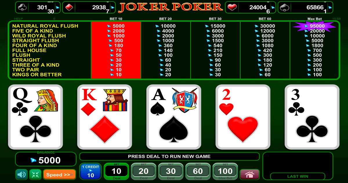 joker poker egt