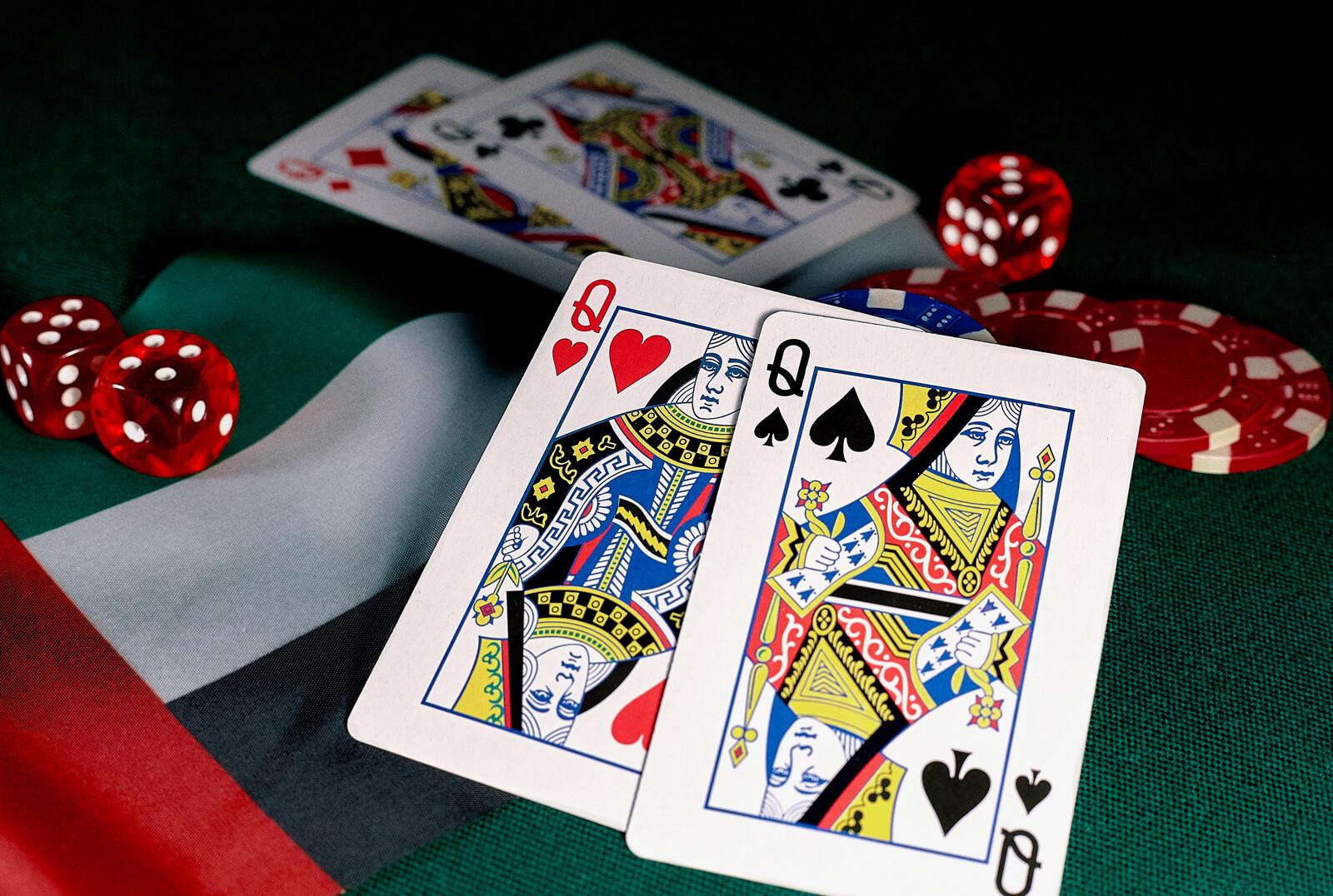Gambling Casino Card Game