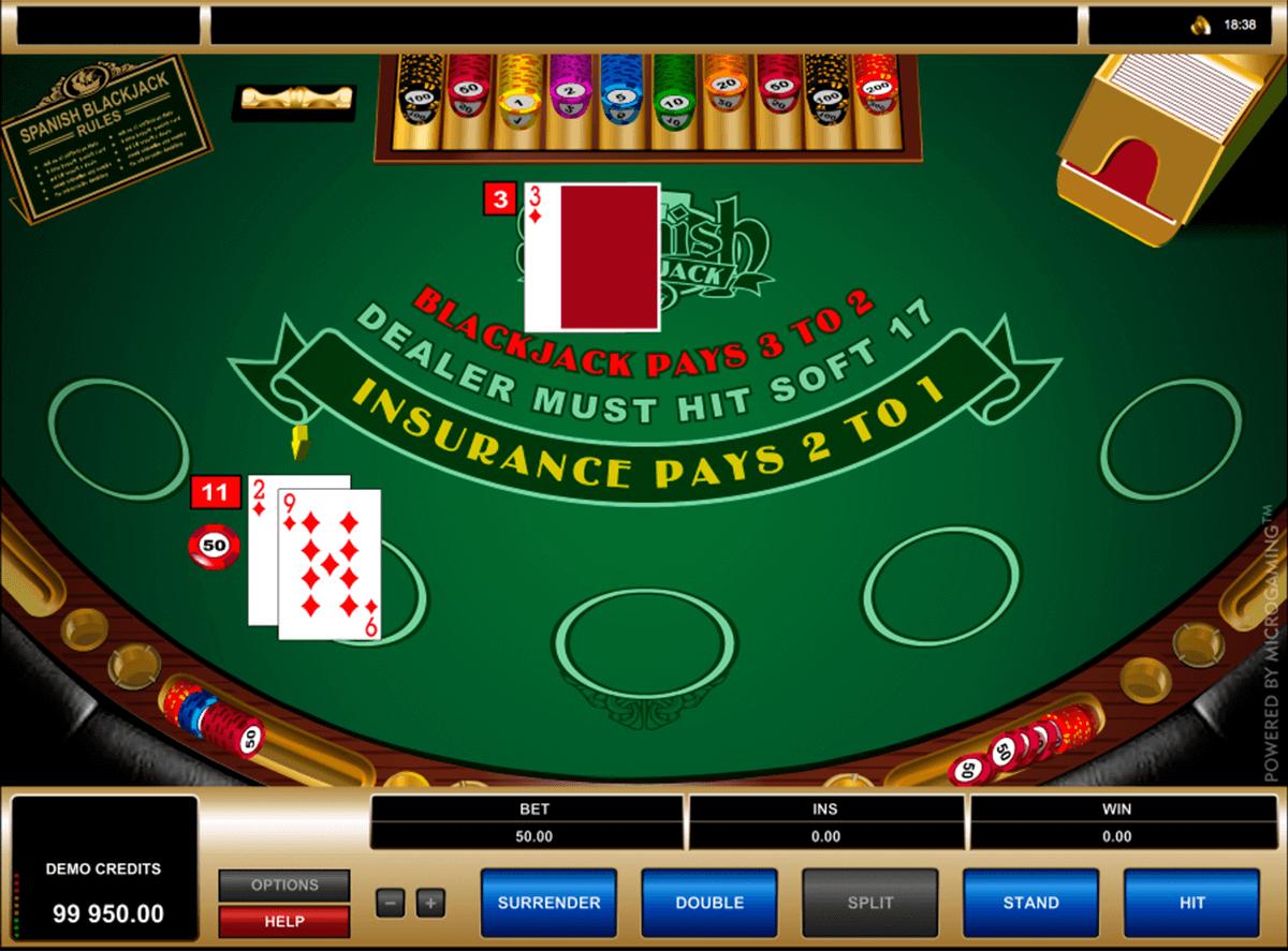 spanish blackjack microgaming